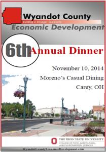 Dinner Program Cover