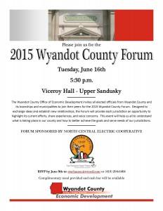 2015 County Forum Invitation