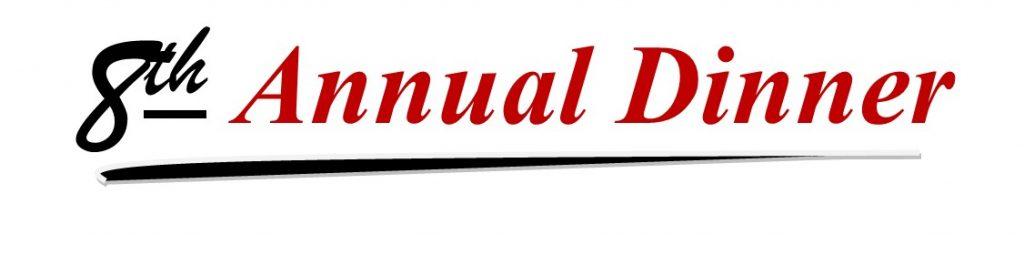 8th Annual Dinner logo