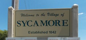 Sycamore Sign