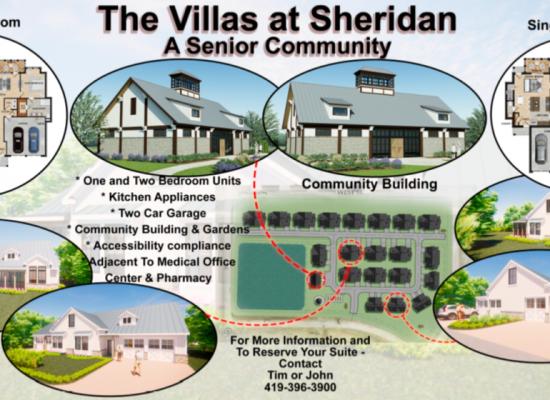 Villas at Sheriden Renderings