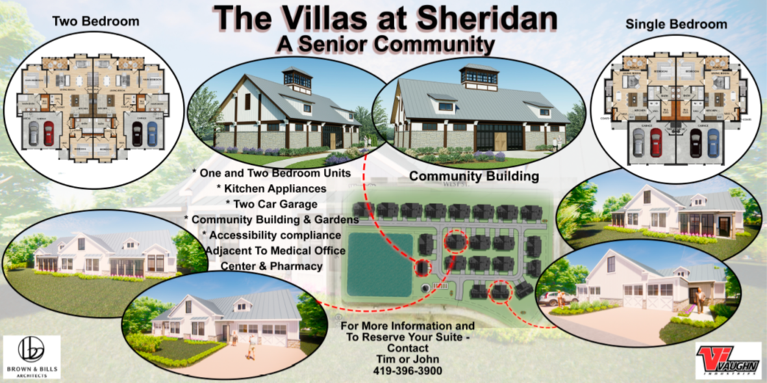 Villas at Sheriden Renderings