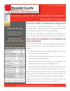 December 2020 Newsletter Cover