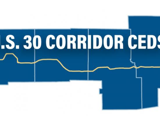 US 30 CEDS Logo